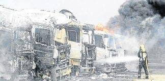 arson attack granada