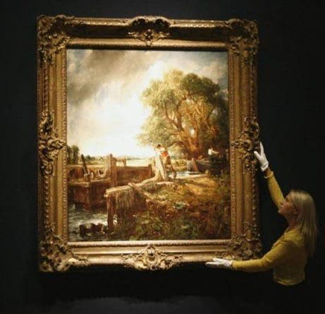 Carmen Thyssen sells Constable's The Lock for €27 million at Christie's