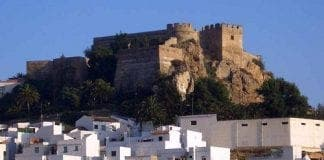 cultural art event at salobrena castle in axarquia spain