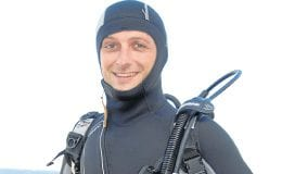 james diving