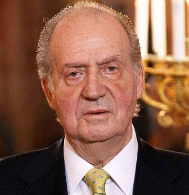 King Juan Carlos loses WWF role