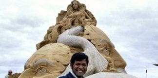 sand artist sudarshan pattnaik comes to marbella for seven day contest
