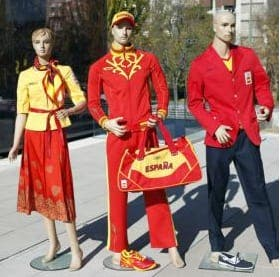 Dismay over 'folklore' Olympics kit for Spain