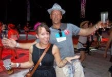 Creamfields Andalucia  The Olive Press Eloise Horsfield and Jon Clarke e
