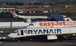 Ryanair-and-easyJet-planes