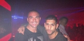 amir khan parties in marbella