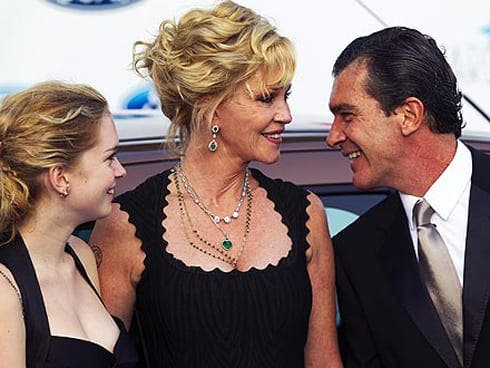 Banderas back to happy families in Marbella