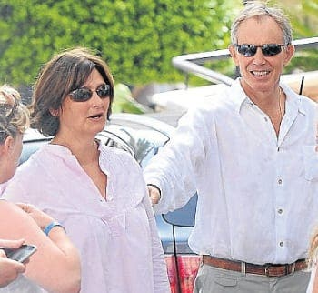 Tony and Cherie Blair visit Andalucia