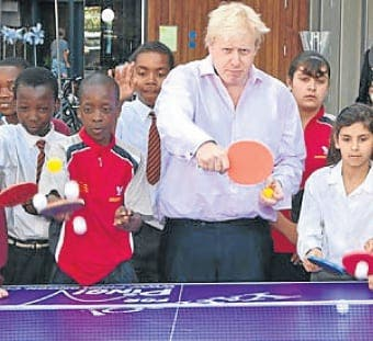 Boris Johnson calls for more sport in schools