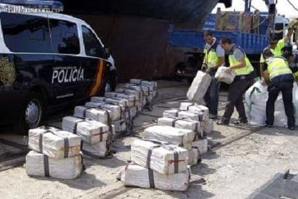 More than 3,000 kilos of cocaine seized off Cadiz coast