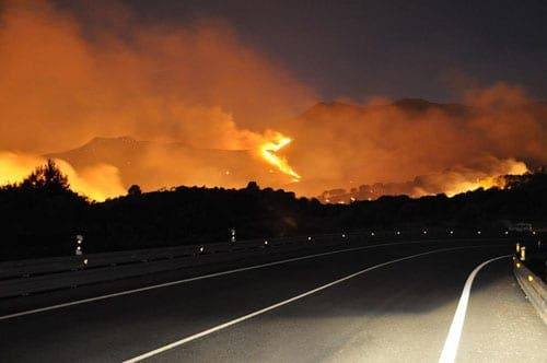 Costa del Sol wildfire latest