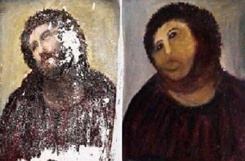 Infamous Spanish fresco restoration sparks tourist boom