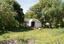 hoopoe yurt andalucia spain