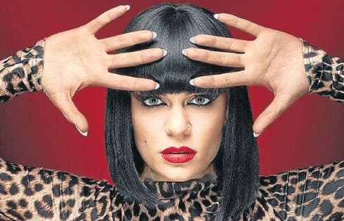 Jessie J heads to the Rock
