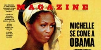 michelle obama exposed on cover of magazine