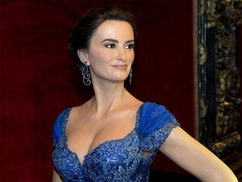 Penelope Cruz immortalised in wax
