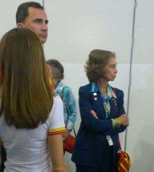 Spanish royals snubbed at Olympics