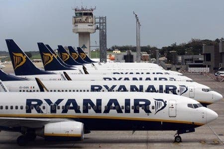 Ryanair cleared over flight diversions in Spain
