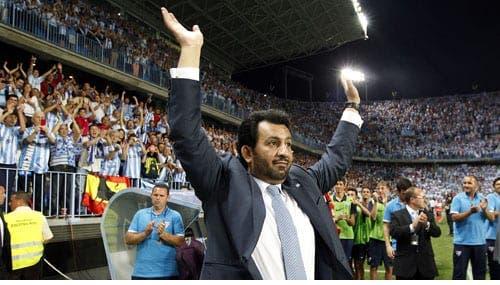Sheikh to sell Malaga FC