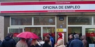 spain unemployment hits record highs