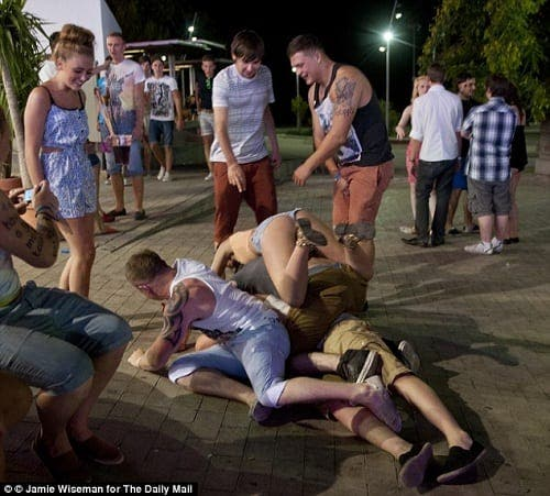 Magaluf: Notorious for bingeing by British teenagers, but now the results are proving fatal