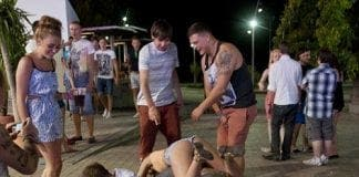 teenagers in magaluf from the daily mail