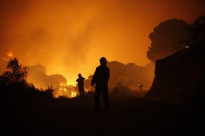 Costa del Sol fire: 'It felt like a Spielberg movie'