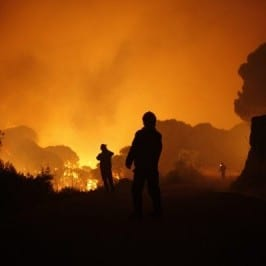 Costa del Sol fire started at the 'Pool from Hell'