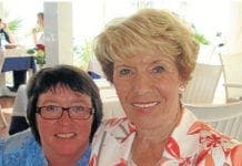 Jackie McAngus reunited with her mum