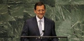 Mariano Rajoy addresses the United Nations General Assembly