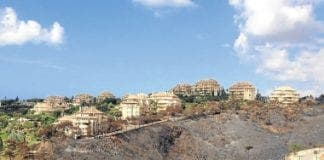 Scorched hills of Elviria