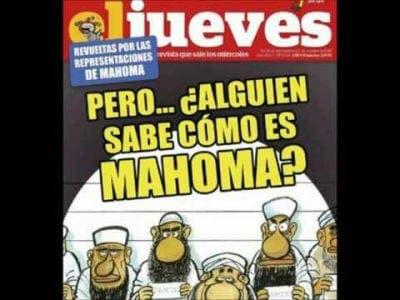 Spanish magazine uses controversial 'Muslim cartoons'