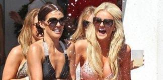 danielle lloyd takes holiday in marbella