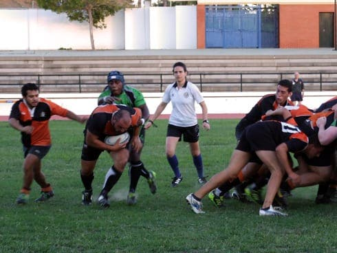 Axarquia Rugby beat the British Army!