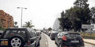 Gibraltar border queues