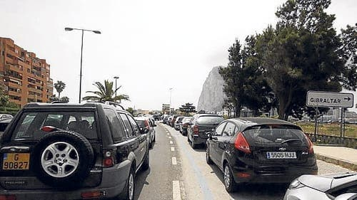 Gibraltar campaigners criticised over border actions