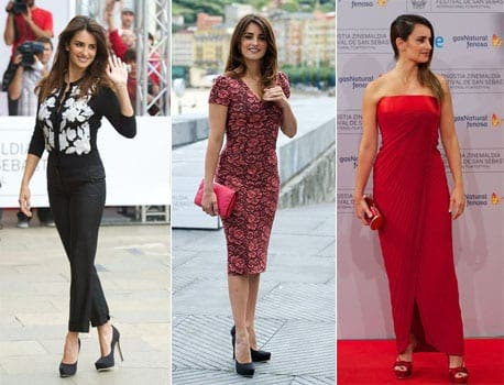 Penelope Cruz dazzles at film festival in Spain
