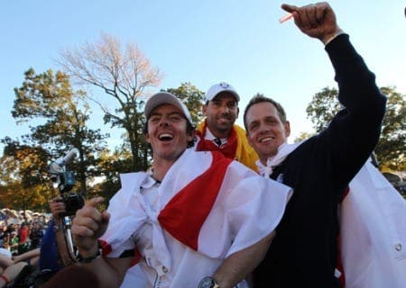 European golfers dedicate Ryder Cup win to Seve