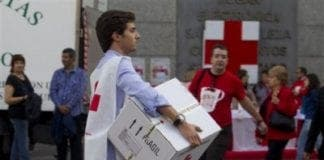Spanish Red Cross appeals for donations e