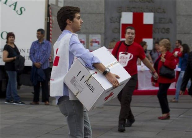 Food parcel plea to help Spaniards