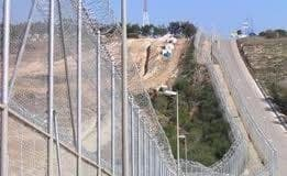 border between Morocco and Spanish enclave Melilla