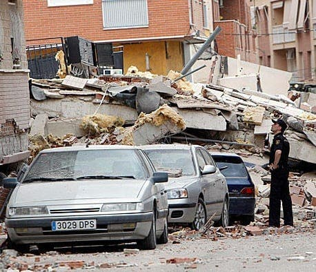 Andalucian government prepares for earthquakes