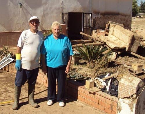 British couple fear for life following Malaga floods