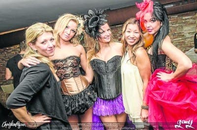 Costa Women hold charity lingerie show