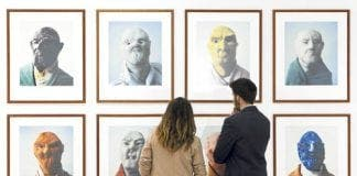 Grotesque art exhibition in Malaga