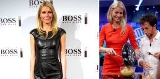 Gwyneth Paltrow Launching Hugo Boss Perfume e