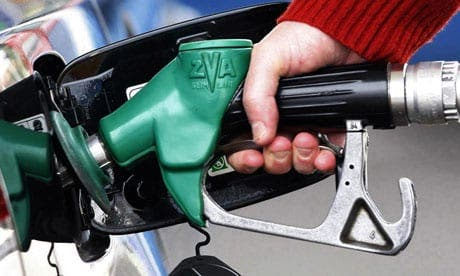 Driving up petrol prices in Spain