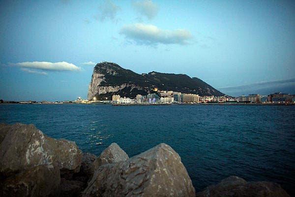 Spanish naval ship enters Gibraltar waters