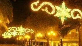 Velez malaga reduces Christmas lights budget