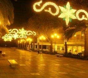 Christmas lights budget to be cut in Velez Malaga